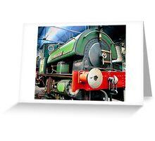 Steam engine - Sir Cecil A Cochrane Greeting Card