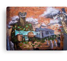 Graffiti - Bakery Lane Brisbane Canvas Print