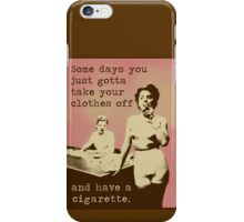 SOMETIMES... iPhone Case/Skin