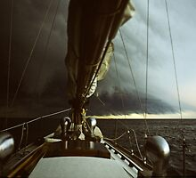 Sailing into a Wall Cloud by John  Harmon