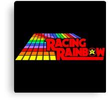 Racing Rainbow Canvas Print