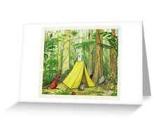 Daintree Campsite Greeting Card