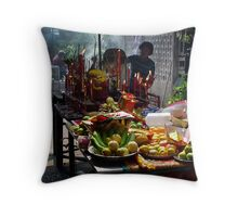 Offerings Throw Pillow