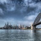 Sydney Harbour Panorama by Jason Ruth