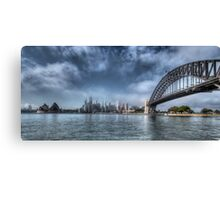 Sydney Harbour Panorama Canvas Print