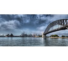 Sydney Harbour Panorama Photographic Print