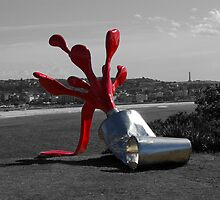 Sculpture by the Sea. 1 by Hilton Luckey