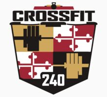New CrossFit 240 Logo One Piece - Short Sleeve