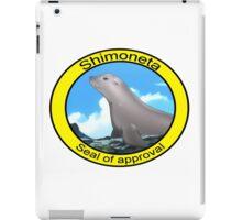 Shimoneta - Seal of approval. iPad Case/Skin