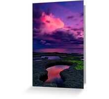 """Evening Tempest"" Greeting Card"