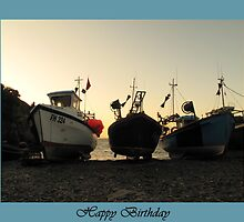 Early Morning light in Cadgewith by Patsy Smiles