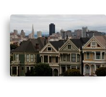 Revisited: the Painted Ladies Canvas Print