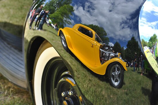 Mud Guard Hot Rod Reflection by MissyD