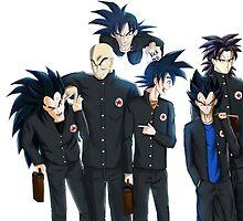 The Saiyan Crew by Marrcus Danzy