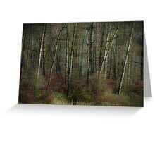 Trees of November Greeting Card