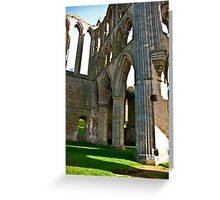 Rievaulx Arches Greeting Card