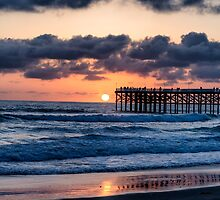 SUN BY THE PIER by joseph s  giacalone