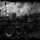 Tractors at the Fair by Russell Fry