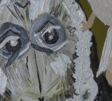 The Little Owl Angel Sticker