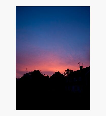 Sunrise Pink Photographic Print