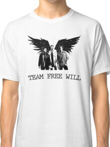Team Free Will Supernatural Classic T-Shirt