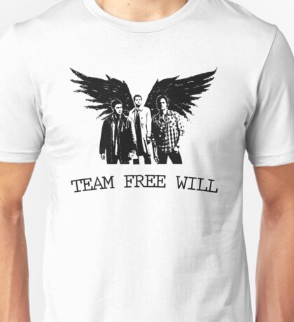 Team Free Will Supernatural Unisex T-Shirt
