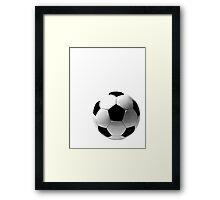 soccer baby Framed Print
