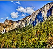 Tunnel view Yosemite, California, united states by maventalk