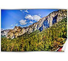 Tunnel view Yosemite, California, united states Poster