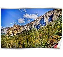 Tunnel view Yosemite, California, united states Poster