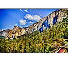 Tunnel view Yosemite, California, united states Photographic Print