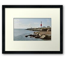 Portland Bill Lighthouse, Dorset, UK Framed Print