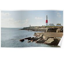 Portland Bill Lighthouse, Dorset, UK Poster
