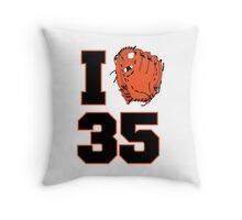 I Glove 35 Throw Pillow