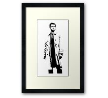 Angel of the Lord Castiel Framed Print