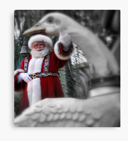 Christmas card No. 2 Canvas Print