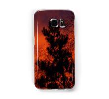 fiery sunrise Samsung Galaxy Case/Skin
