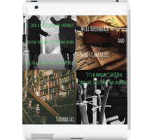 Will Herondale and Jem Carstairs -Parabatai iPad Case/Skin