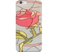 Stained Glass Window Rose iPhone Case/Skin