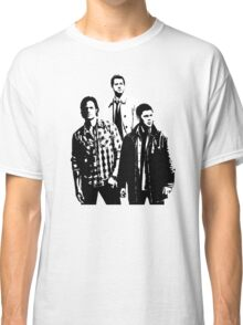 Sam, Dean and Castiel Winchester Classic T-Shirt
