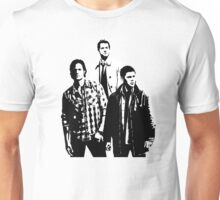 Sam, Dean and Castiel Winchester Unisex T-Shirt