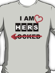Not SHERlocked - variant 2 for T-shirts T-Shirt