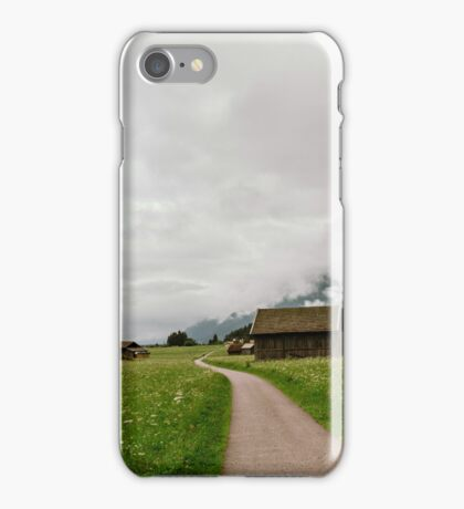 Alpine Valley Barns iPhone Case/Skin