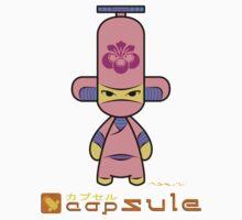 Capsule Toyz - Pink Ninja by Saing Louis