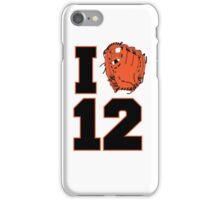 I Glove 12 iPhone Case/Skin