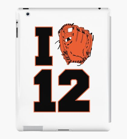 I Glove 12 iPad Case/Skin