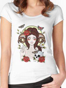 Pagan Goddess Women's Fitted Scoop T-Shirt