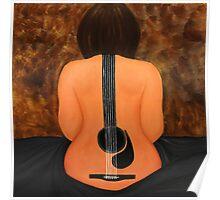 Guitarwoman  Poster