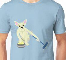 Chihuahua Curling Unisex T-Shirt