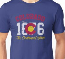 Vintage Colorado The Centennial State Unisex T-Shirt
